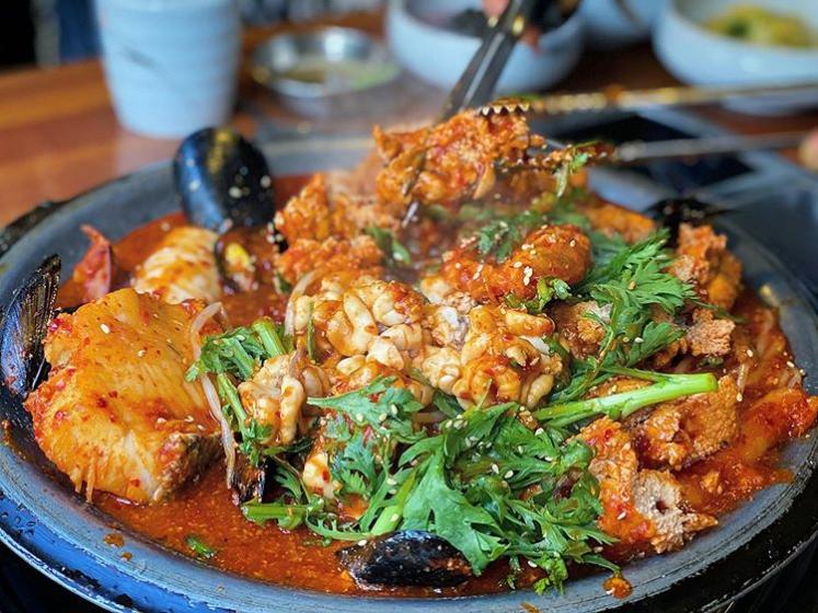 ソウルのおすすめシーフードレストラン「アルプジャ@江南(カンナム)」の画像2