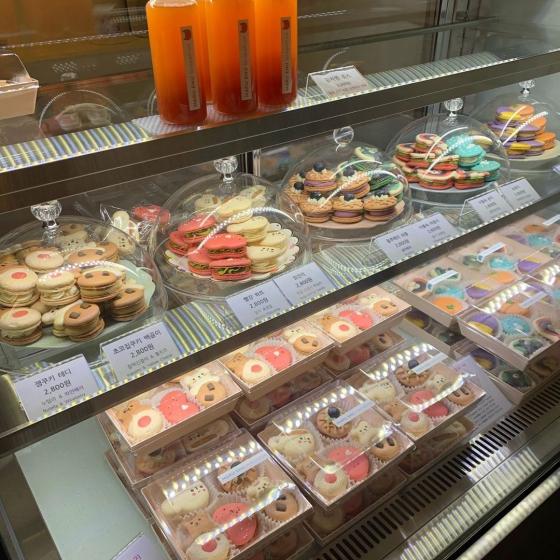 韓国で人気の太っちょマカロン「トゥンカロン」!人気のおすすめ店MARU ENU(マルエヌ)の画像2