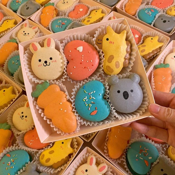 韓国で人気の太っちょマカロン「トゥンカロン」!人気のおすすめ店MARU ENU(マルエヌ)の画像