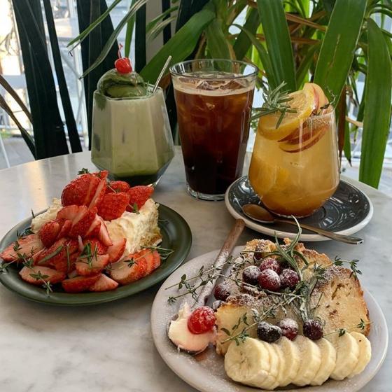 フルーツが美味しいカフェの画像