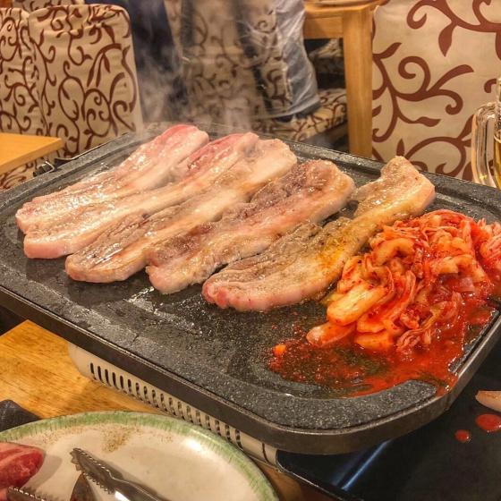 新大久保で人気の焼肉・サムギョプサル屋さん「韓国料理 豚かん(とんかん)」の画像