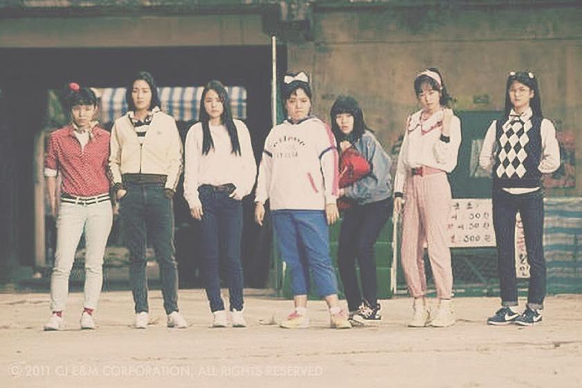 U-NEXT(ユーネクスト)のおすすめ韓国映画「サニー 永遠の仲間たち」(2011年)の画像