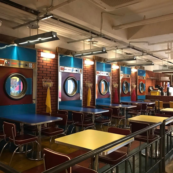ピザやハンバーガーなどジャンクフード店「Laundry Pizza(ラウンドリーピザ)」の画像2