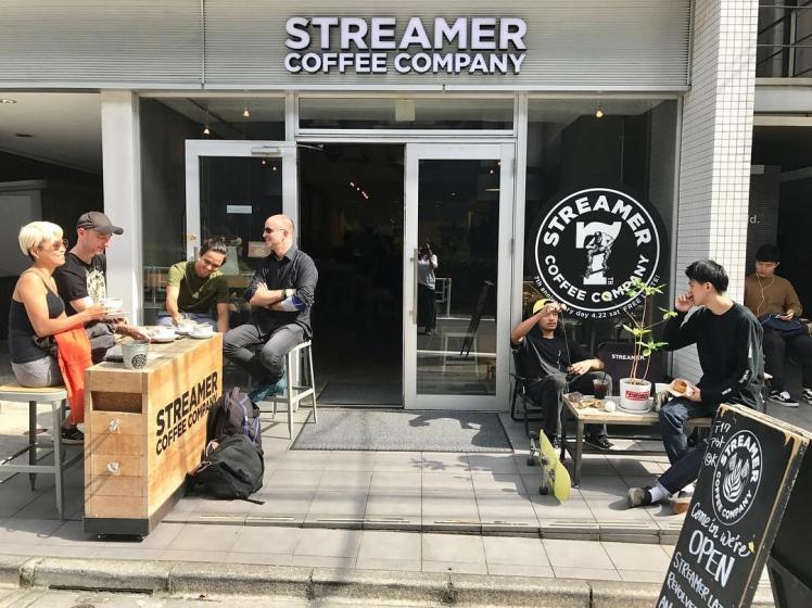 韓国人から人気な日本の東京カフェSTREAMER COFFEE COMPANY(ストリーマーコーヒーカンパニー)の画像