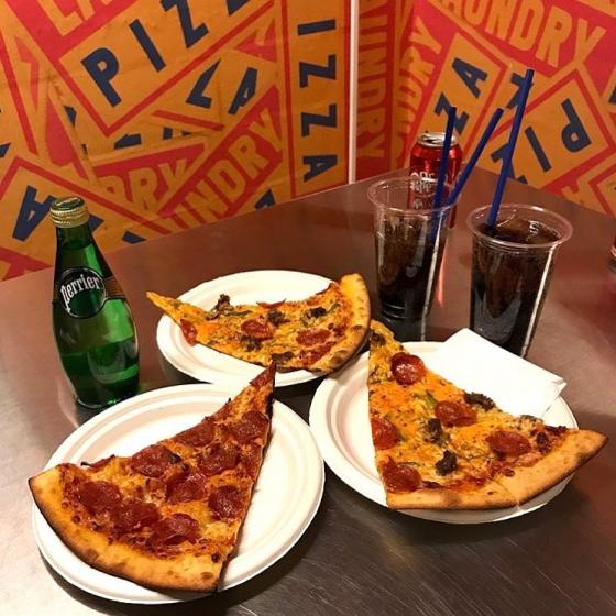 ピザやハンバーガーなどジャンクフード店「Laundry Pizza(ラウンドリーピザ)」の画像3