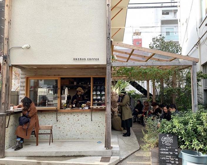 韓国人から人気な日本の東京カフェONIBUS(オニバス)の画像