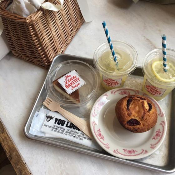 韓国人から人気な日本の東京カフェThe Little BAKERY Tokyo(ザリトルベーカリートウキョウ)の画像3