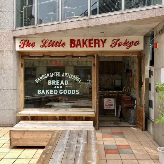 韓国人から人気な日本の東京カフェThe Little BAKERY Tokyo(ザリトルベーカリートウキョウ)の画像