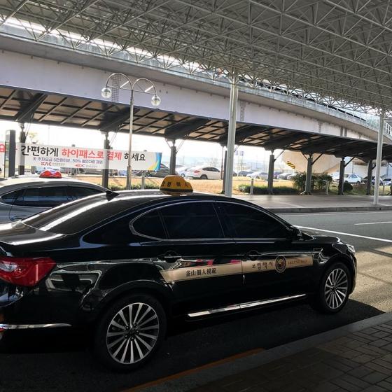 韓国タクシーの画像2