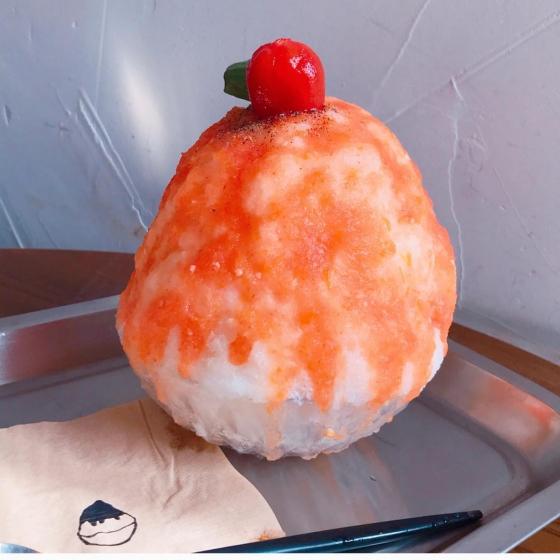 韓国ソウルのピンス(かき氷)有名店「 東京ピンス(トキョピンス) 」の画像