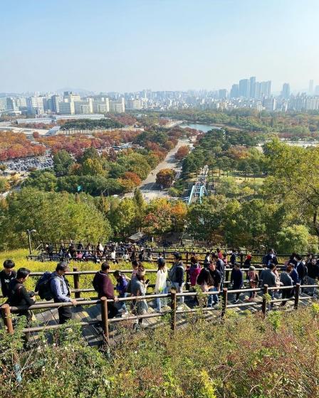 ソウルのおすすめ観光スポット「ハヌル公園(ハヌルコンウォン)」の画像